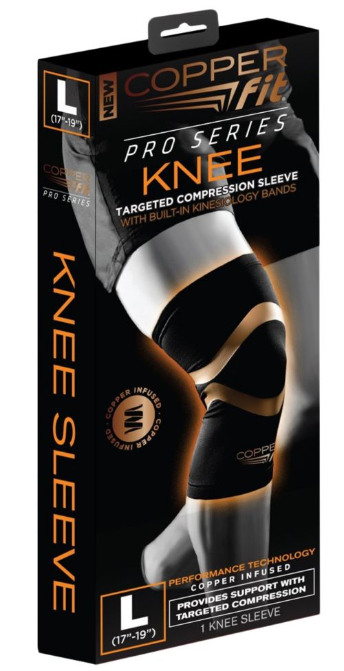 bb459c9bfb Copper Fit Pro Series Knee Sleeve