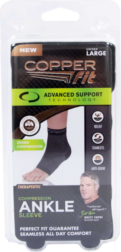e0f9f4054c Copper Fit Advanced Compression Ankle Sleeve | DICK'S Sporting Goods
