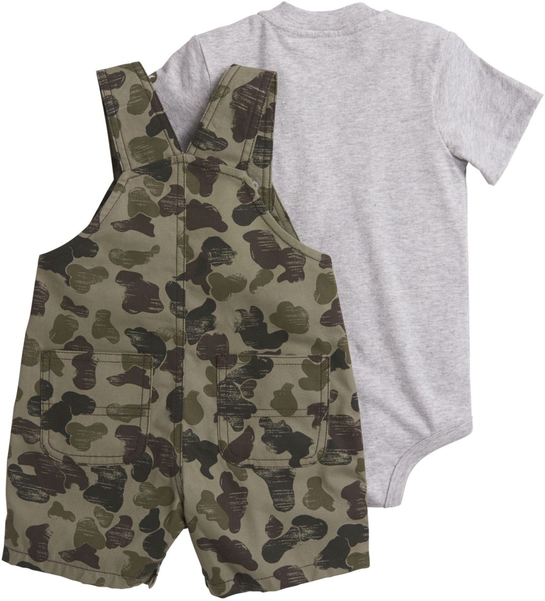9113f5919 Carhartt Infant Boys' 2-Piece Onesie and Camo Shortall Set | DICK'S ...