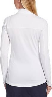 Callaway Women's UV Jacquard Long Sleeve ¼ Zip Golf Pullover product image