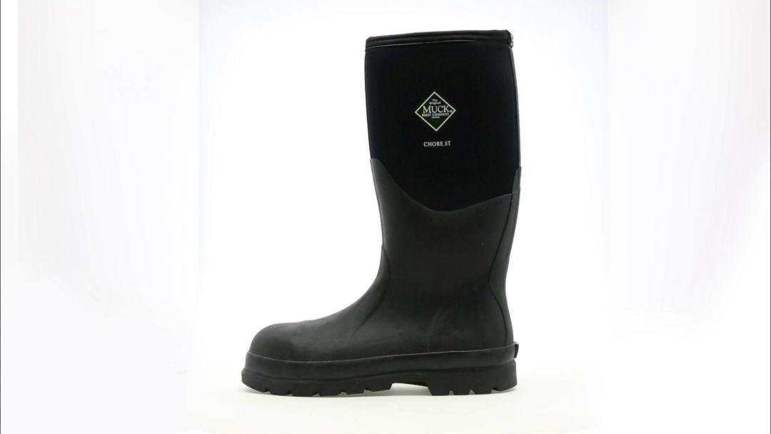 0b7bd1da1fb Muck Boots Men's Chore Hi Waterproof Work Boots