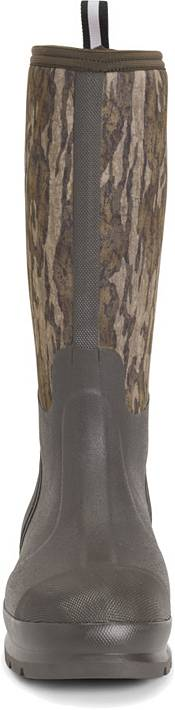 Muck Boots Men's Chore Hi Classic Mossy Oak Bottomland Rubber Hunting Boots product image