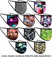 BlackStrap Civil Mask – 10 Pack (Assorted Prints) product image