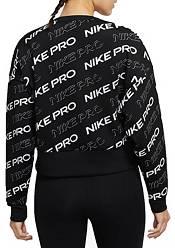 Nike Women's Pro Crewneck Fleece Sweatshirt product image