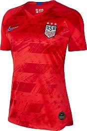 Nike Women's 2019 FIFA Women's World Cup USA Soccer Alex Morgan #13 Breathe Stadium Away Replica Jersey product image