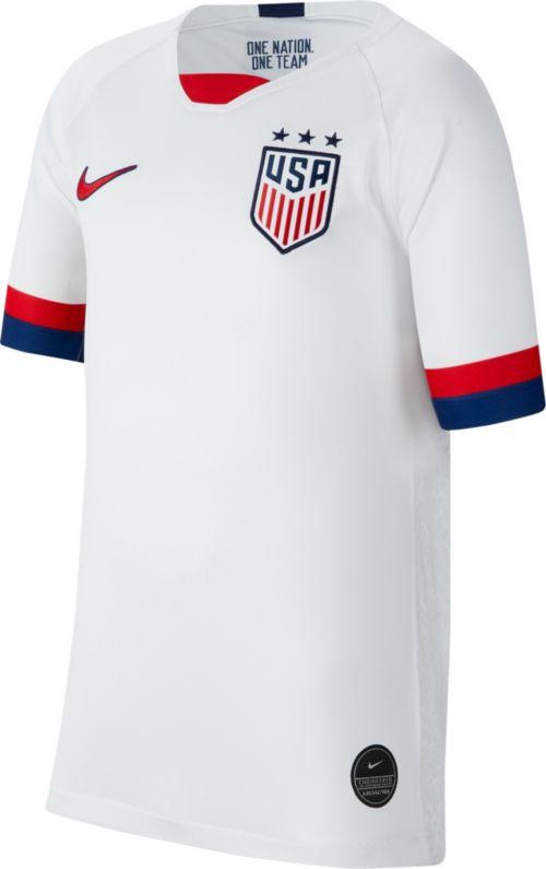 d651f7cfe2e Nike Youth 2019 FIFA Women s World Cup USA Soccer Alex Morgan  13 Breathe  Stadium Home Replica Jersey