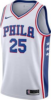 Nike Men's Philadelphia 76ers Ben Simmons #25 White Dri-FIT Swingman Jersey product image
