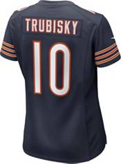 Nike Women's Chicago Bears Mitchell Trubisky #10 100th Navy Game Jersey product image