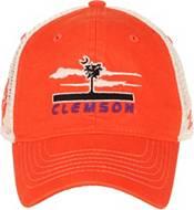 Zephyr Men's Clemson Tigers Orange/White Adjustable Trucker Hat product image