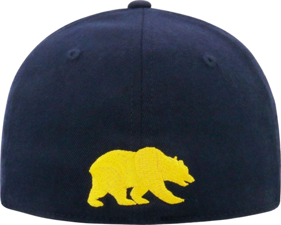 promo code c41df aa2f5 Top of the World Men s Cal Golden Bears Blue Premium Collection M-Fit Hat