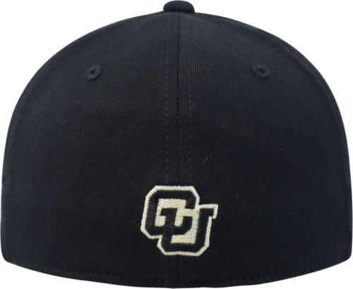 uk availability 9b188 884bf Top of the World Men s Colorado Buffaloes Black Premium Collection M-Fit Hat