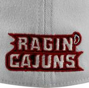 Top of the World Men's Louisiana-Lafayette Ragin' Cajuns White Premium Collection M-Fit Hat product image
