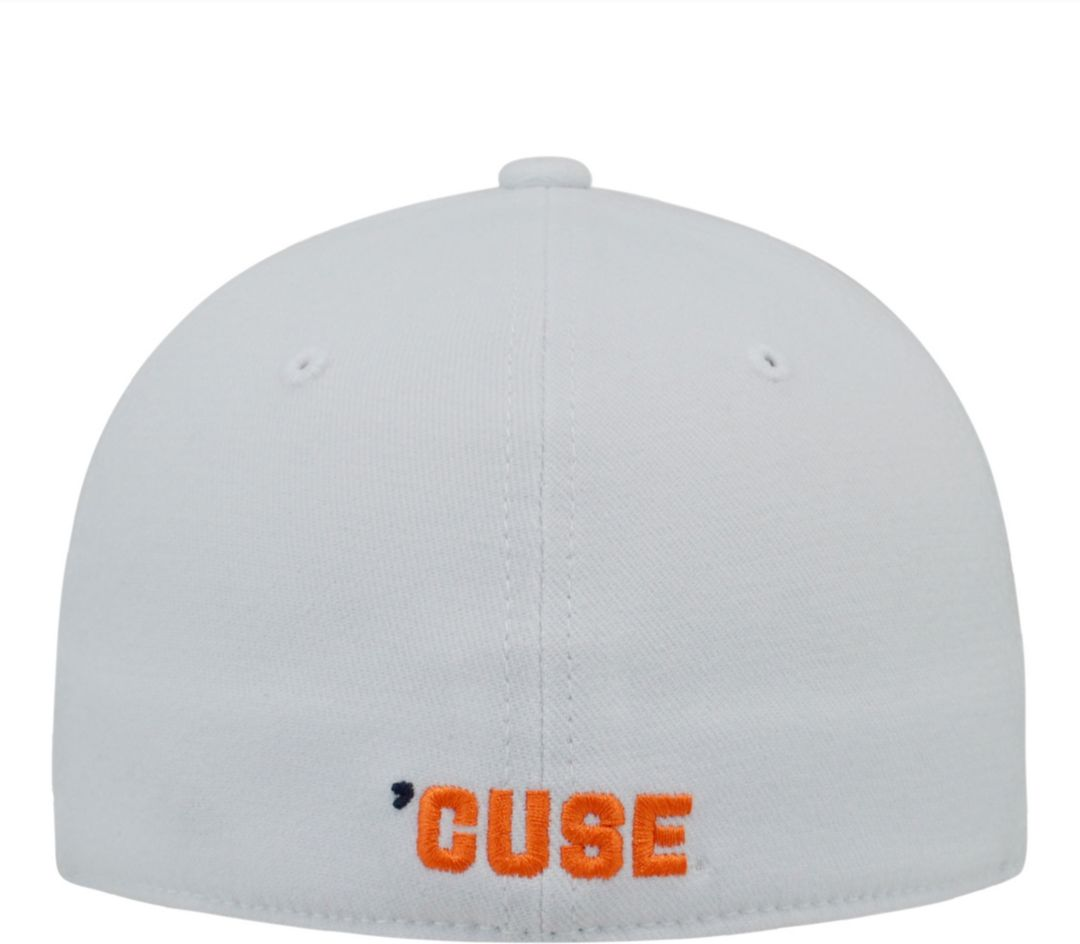 new style 42c97 09c45 Top of the World Men s Syracuse Orange White Premium Collection M-Fit Hat 2