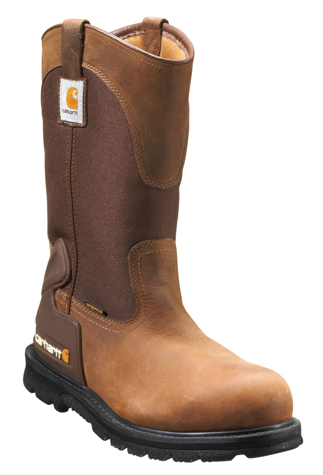 "aea308fe49a Carhartt Men's 11"" Wellington Safety Toe Waterproof Work Boots"