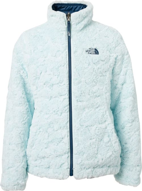 b3fddd9531d2 The North Face Girls  Reversible Mossbud Swirl Insulated Jacket ...