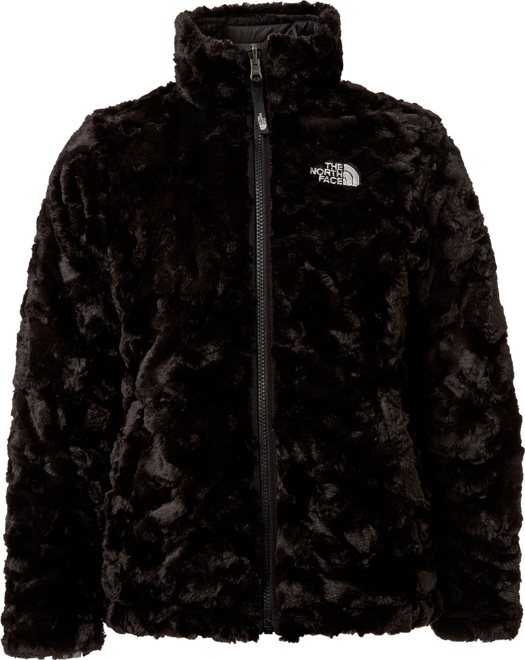 f4393edc1f29 The North Face Girls' Reversible Mossbud Swirl Insulated Jacket