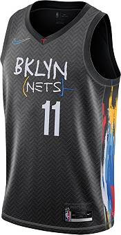 Nike Men's 2020-21 City Edition Brooklyn Nets Kyrie Irving #11 Dri-FIT Swingman Jersey product image