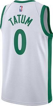 Nike Men's 2020-21 City Edition Boston Celtics Jayson Tatum #0 Dri-FIT Swingman Jersey product image