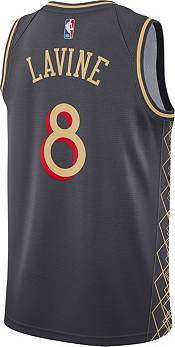 Nike Men's 2020-21 City Edition Chicago Bulls Zach LaVine #8 Dri-FIT Swingman Jersey product image