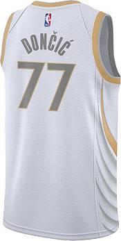 Nike Men's 2020-21 City Edition Dallas Mavericks Luka Doncic #77 Dri-FIT Swingman Jersey product image