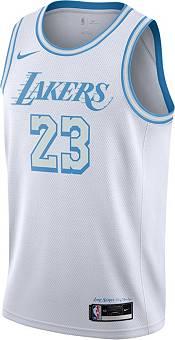 Nike Men's 2020-21 City Edition Los Angeles Lakers LeBron James #23 Dri-FIT Swingman Jersey