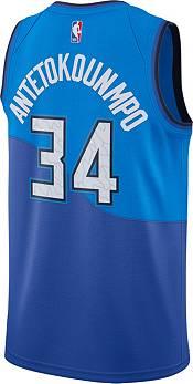 Nike Men's 2020-21 City Edition Milwaukee Bucks Giannis Antetokounmpo #34 Dri-FIT Swingman Jersey product image