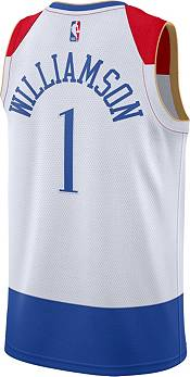 Nike Men's 2020-21 City Edition New Orleans Pelicans Zion Williamson #1 Dri-FIT Swingman Jersey product image