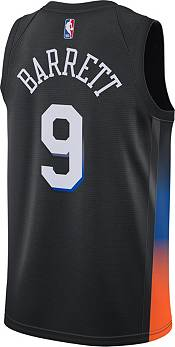 Nike Men's 2020-21 City Edition New York Knicks RJ Barrett #9 Dri-FIT Swingman Jersey product image