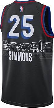 Nike Men's 2020-21 City Edition Philadelphia 76ers Ben Simmons #25 Dri-FIT Swingman Jersey product image