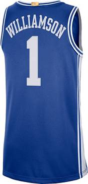 Nike Men's Zion Williamson Duke Blue Devils #1 Duke Blue Limited Basketball Jersey product image