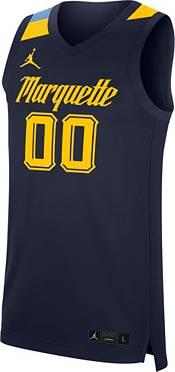 Jordan Men's Marquette Golden Eagles #00 Blue Replica Basketball Jersey product image