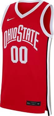 Nike Men's Ohio State Buckeyes #00 Scarlet Replica Basketball Jersey product image