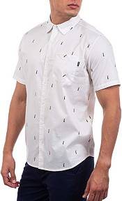 Hurley Men's Pineapple Stretch Short Sleeve Button Down Shirt product image