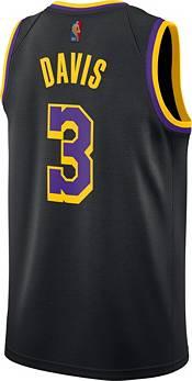 Nike Men's Los Angeles Lakers 2021 Earned Edition Anthony Davis  Dri-FIT Swingman Jersey product image