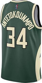 Nike Men's Milwaukee Bucks 2021 Earned Edition Giannis ...