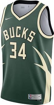 Nike Men's Milwaukee Bucks 2021 Earned Edition Giannis Antetokounmpo  Dri-FIT Swingman Jersey product image