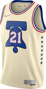 Nike Men's Philadelphia 76ers 2021 Earned Edition Joel Embiid Dri-FIT Swingman Jersey product image