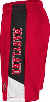 Colosseum Men's Maryland Terrapins Red Wonkavision Shorts product image