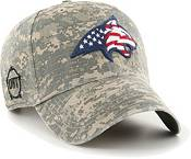 '47 Men's Montana State Camo OHT Clean Up Adjustable Hat product image
