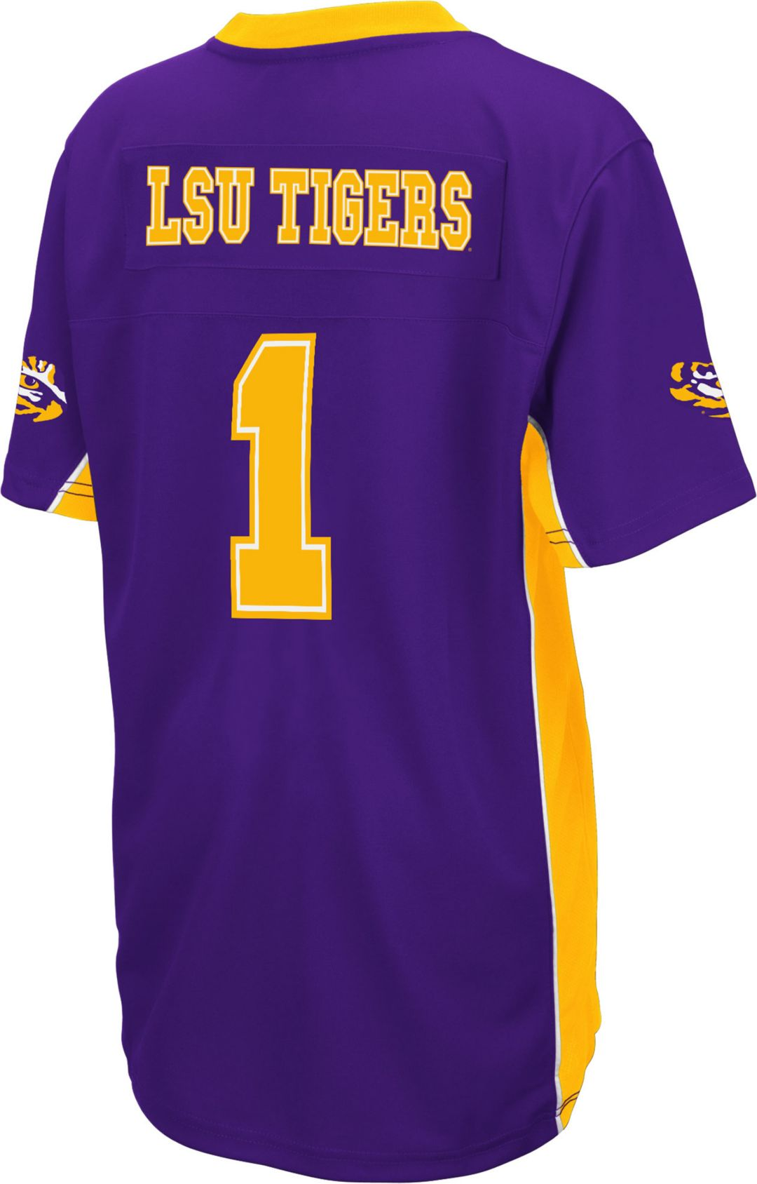 on sale 23d61 d1e65 Colosseum Youth LSU Tigers Purple Max Power Football Jersey