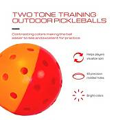 GAMMA Two-Tone Outdoor Training Pickleballs – 6 Pack product image