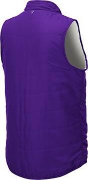 Colosseum Women's Washington Huskies Purple Blatch Reversible Full-Zip Vest product image