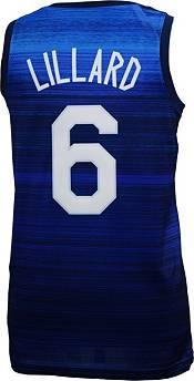 Nike Men's USA Basketball Olympics Damian Lillard #6 Navy Jersey product image