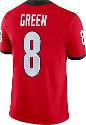 Nike Men's AJ Green Georgia Bulldogs #8 Red Dri-FIT Game Football Jersey product image