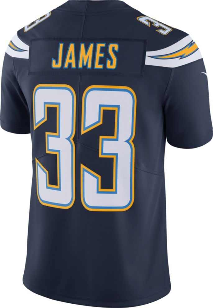 info for afeaa d787f Nike Men's 100th Home Limited Jersey Los Angeles Chargers Derwin James #33