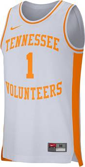 Nike Men's Tennessee Volunteers #1 Replica Retro Basketball White Jersey product image