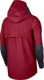Nike Men's Alabama Crimson Tide Crimson Lightweight Football Sideline Player's Jacket product image
