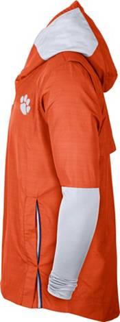 Nike Men's Clemson Tigers Orange Lightweight Football Sideline Player's Jacket product image