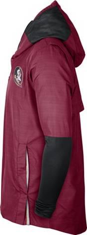 Nike Men's Florida State Seminoles Garnet Lightweight Football Sideline Player's Jacket product image