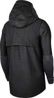 Nike Men's Oregon Ducks Lightweight Football Sideline Player's Black Jacket product image